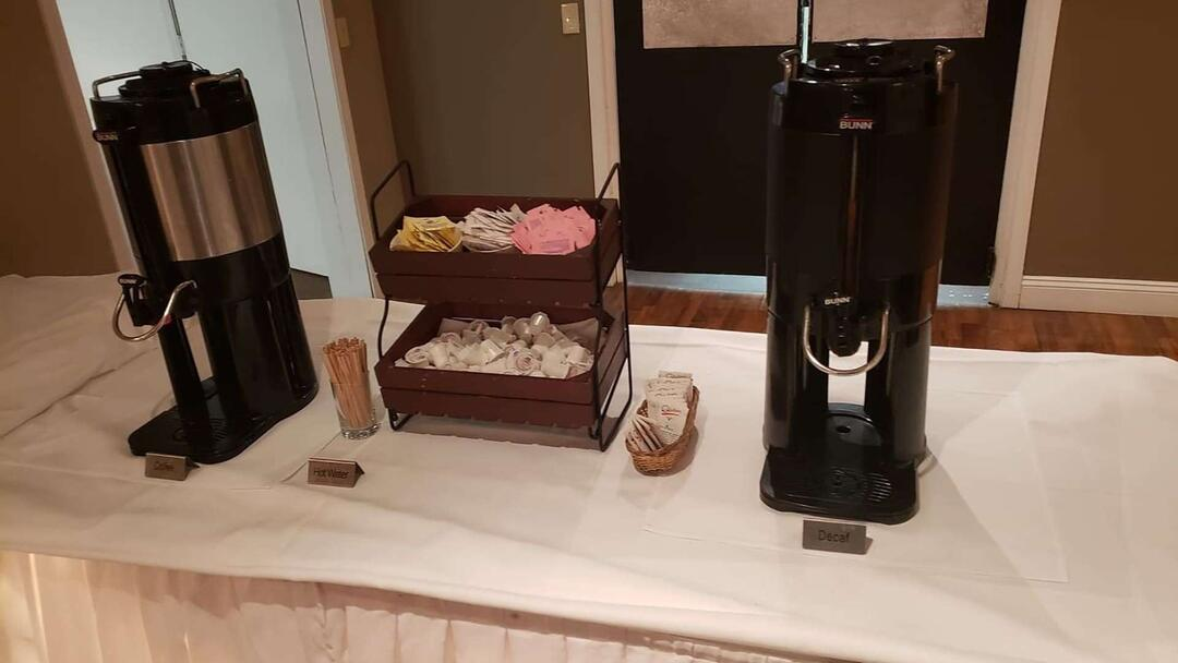 Coffee Station Coffee Station Setup 2 Gatherings Banquet Event Center