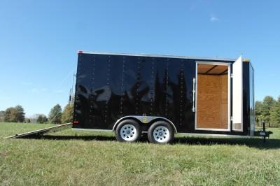 7x16 Enclosed Cargo Trailer 7k - Gatormade Trailers