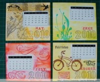 Ninas Altered Christmas Project # 9: Handmade Calendar ...