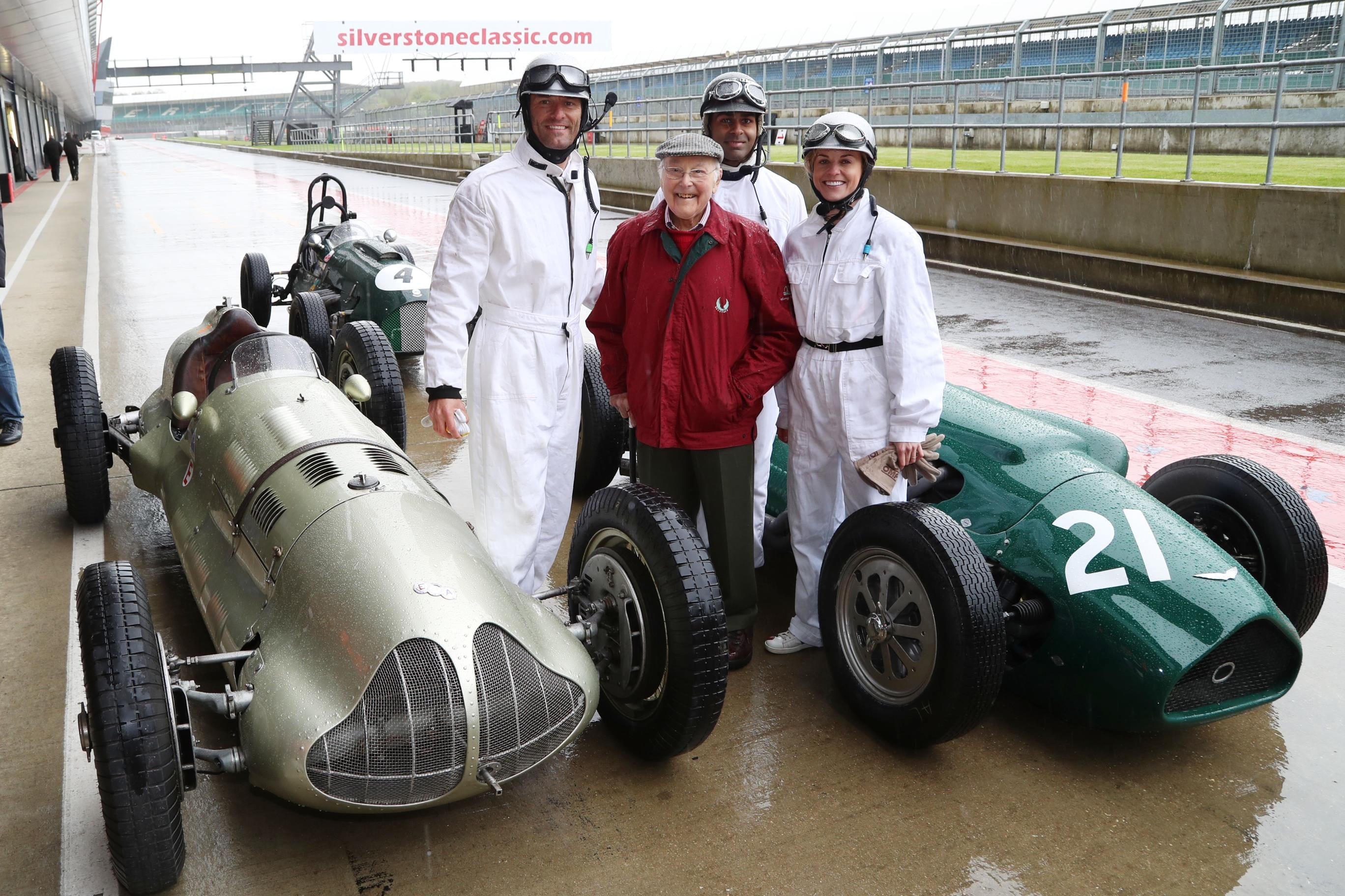 Now Tv F1 Pass Stars And Cars Steal The Show At Silverstone Classic