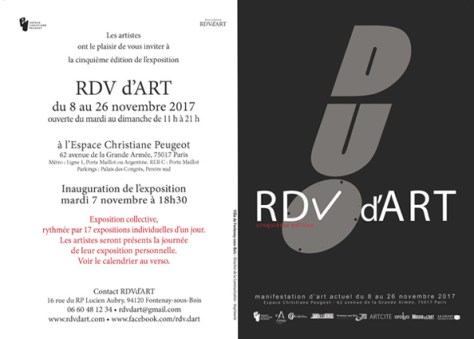 Invitation RDVd'Art