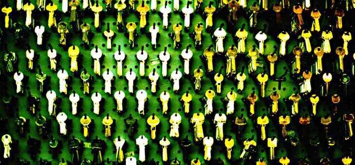 wall-of-keys
