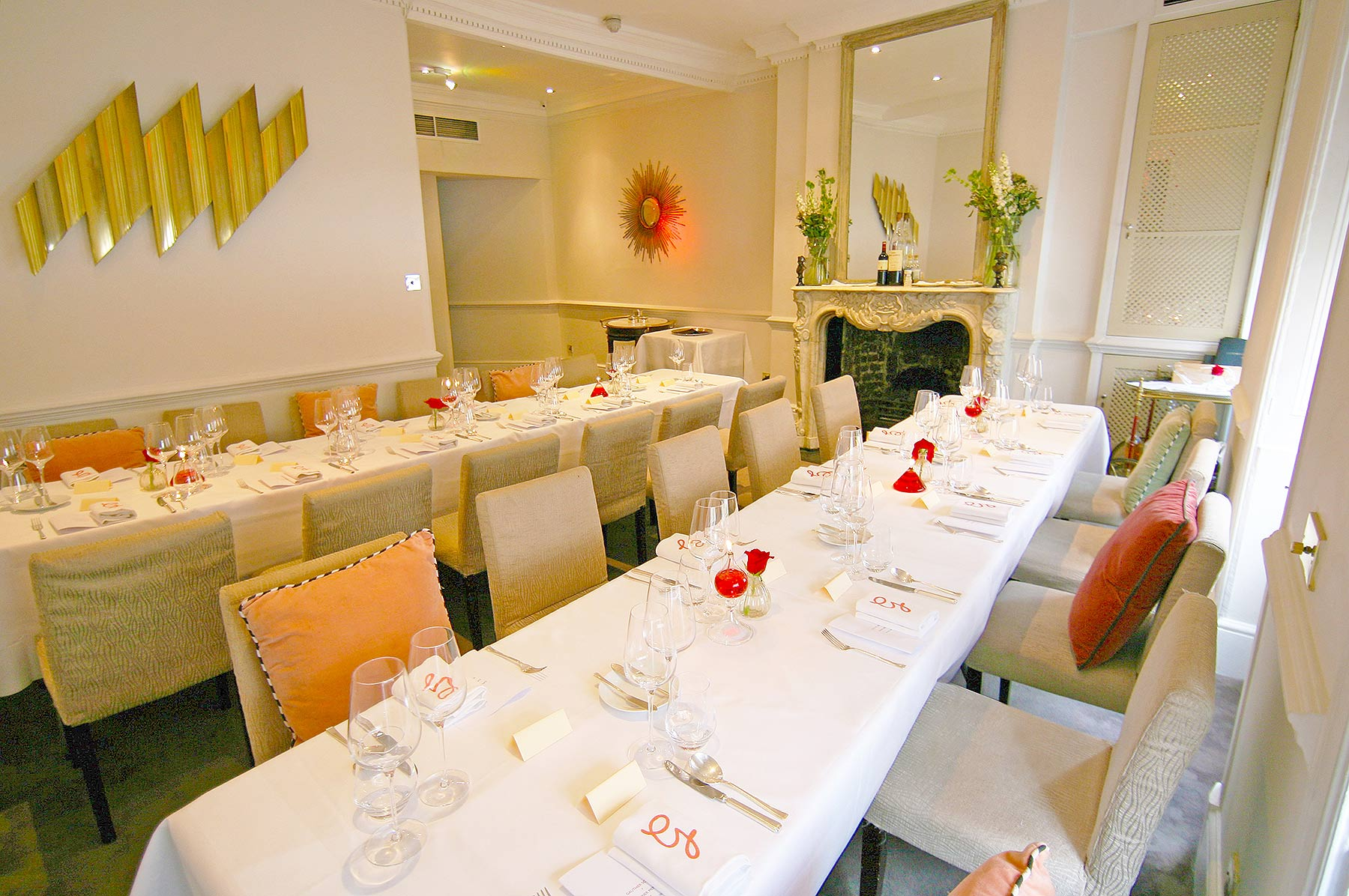 Grand Salon Private Dining Group Dining Soho London W1