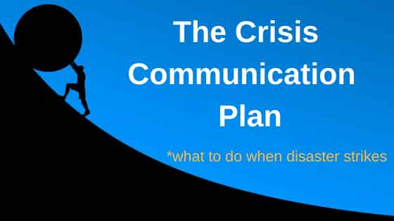 Crisis Communication Plan What to do when Disaster Strikes - Gavin