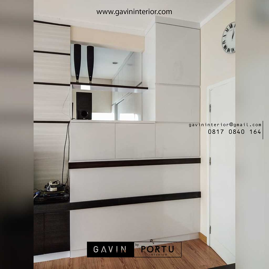 Design Ruang Tv Minimalis Harga Kitchen Set Lemari Pakaian Sliding Rak Tv Minimalis By Gavin