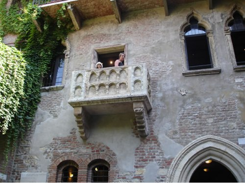 Juliet's Balcony Verona, Italy