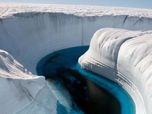 Amazing Places: Ice Canyon, Greenland