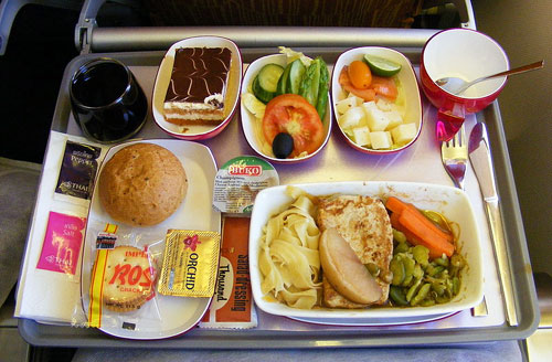 Top Ten Airlines In The World: Thai Airways In-Flight Food