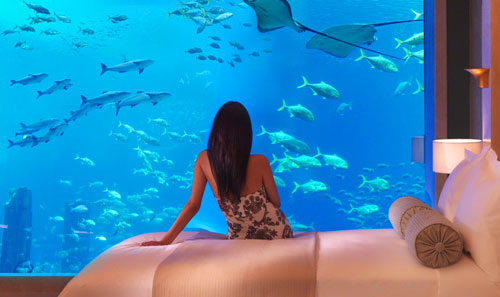 Underwater Hotel Dubai: Atlantis, The Palm