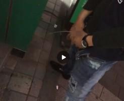【Vine動画】酔っぱらって、カメラの前でムケチン出して立ちションしちゃうイケメンw