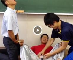【Vine動画】男子高校生が3Pで手コキ、潮吹きを実演!?ノリノリすぎて面白いww