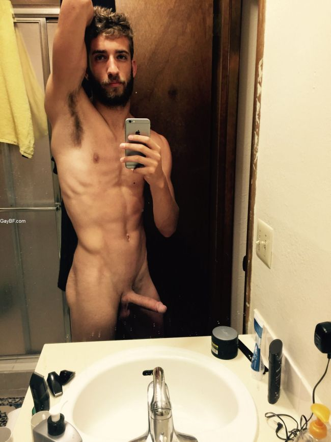 Straight Guys Naked Selfies