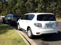 Nissan Patrol: Like A Couple Of Wing Backed Chairs On A ...