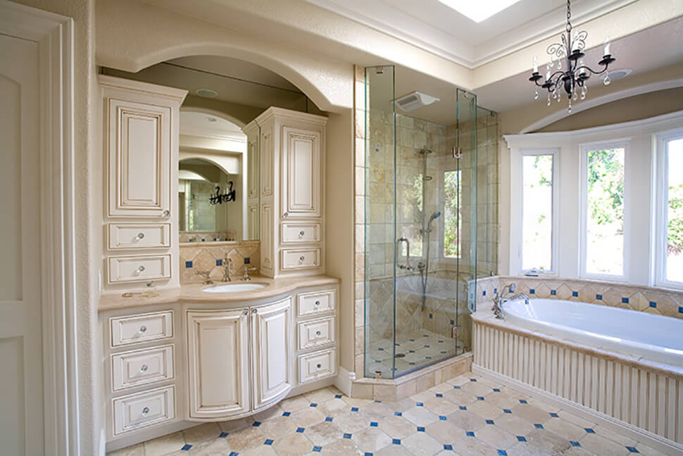 Traditional Master Bath Remodel In Alamo Gayler Design Build Inc