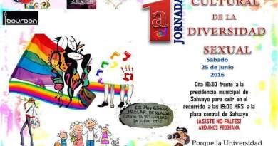 1ª Jornada Cultural de la Diversidad Sexual – Sahuayo