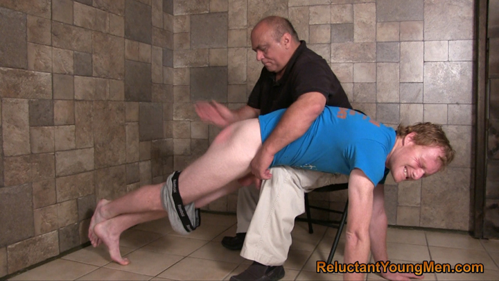 Mature gay spanking
