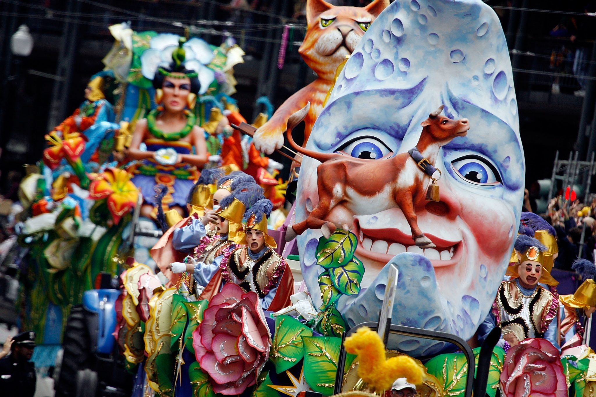 New Orleans celebrates Mardi Gras