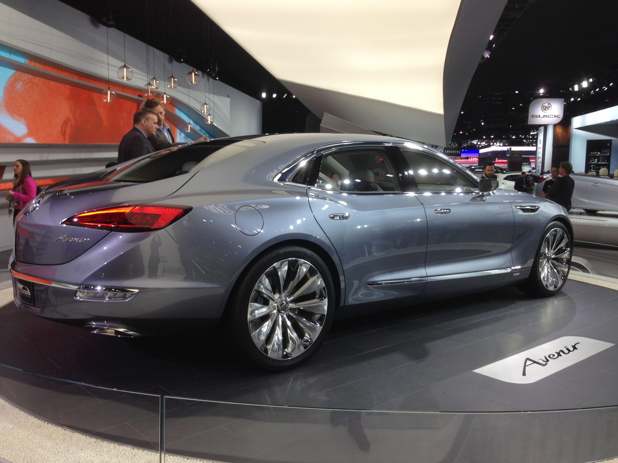 Buick Avenir concept at the 2015 North American International Auto Show