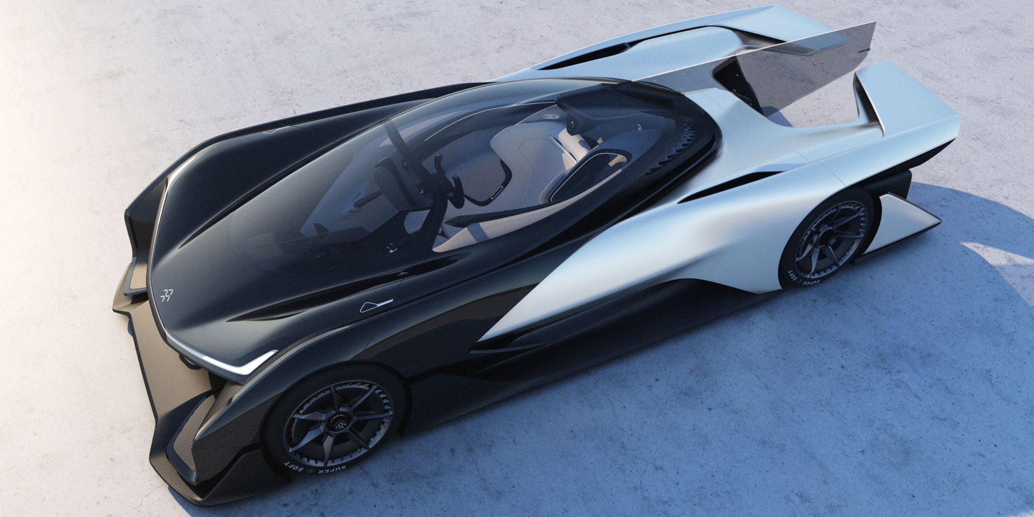 Faraday Future's 1000HP electric car