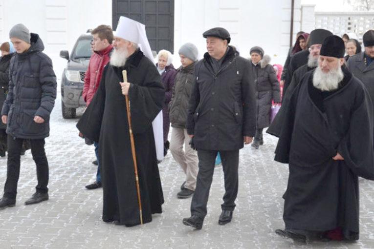 Анатолий Артамонов принял участие в открытии женского монастыря в честь Калужской иконы Божией Матери