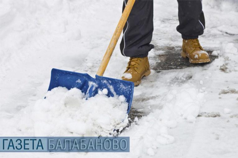 Особенности уборки территорий в зимний период