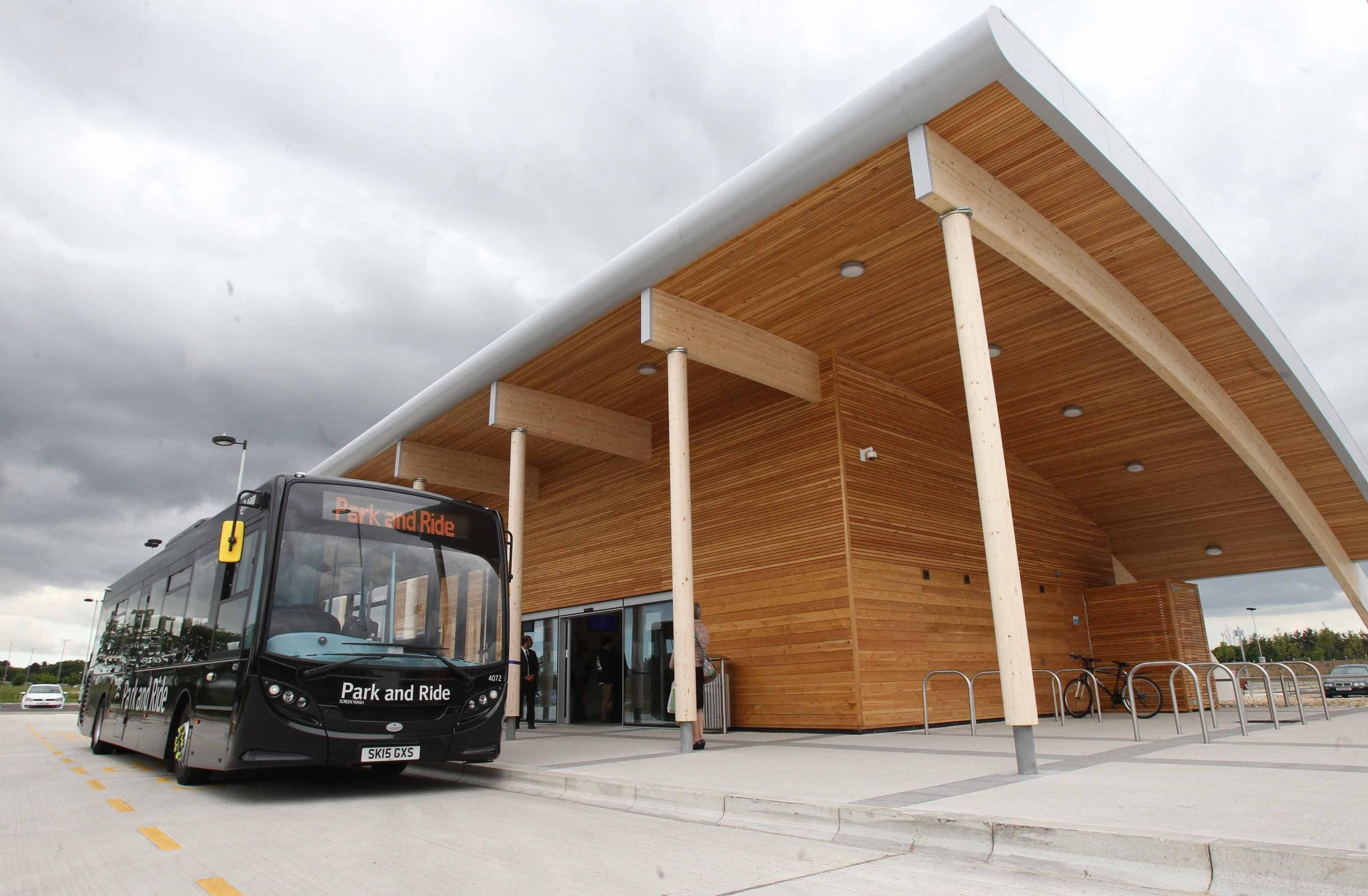 Stansted Car Village Shuttle Colchester Park And Ride And Stansted Could Still Be Linked