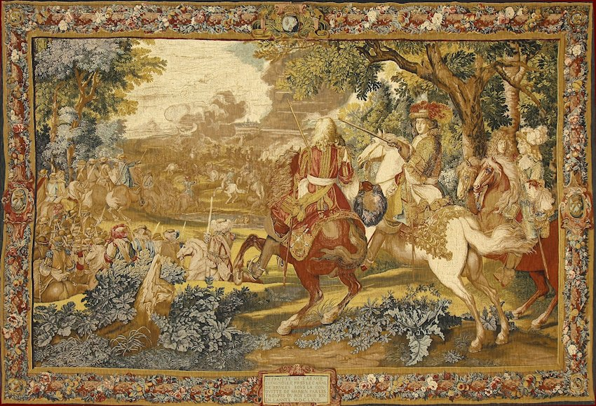 Hotel Rambouillet Tapestries | History Of Tapestries And Production Of De