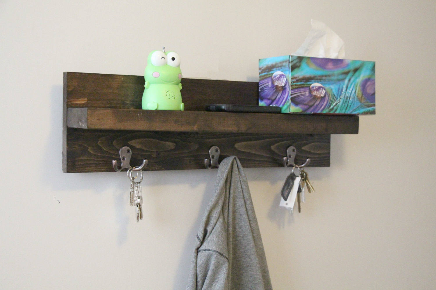 Wooden Key Holder With Shelf Buy Large Key Holder For Wall Key Holder Shelf Key