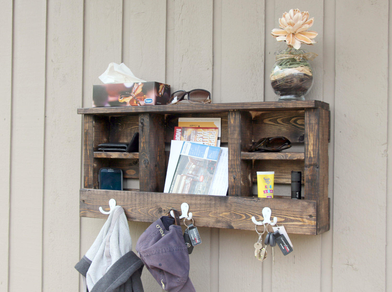 Buy Entryway Key Holder For Wall Mail Holder Wall