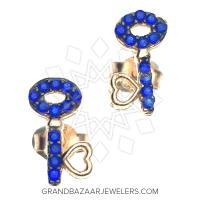 925 Sterling Silver Stud Earrings GBJ316ER31457