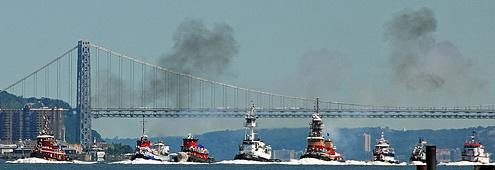 Tugboats & Verrazzano Bridge