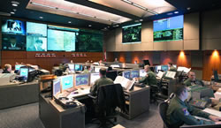 NORAD's Old Command Center at Cheyenne Mountain.