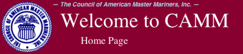 The Council of American Master Mariners - Header