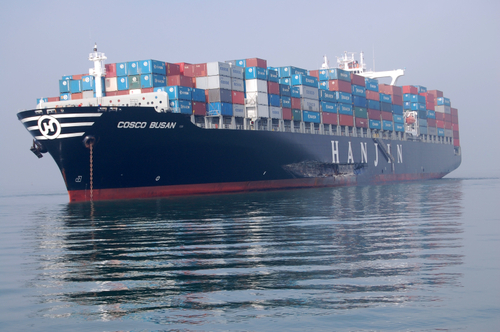 Container Ship Cosco Busan