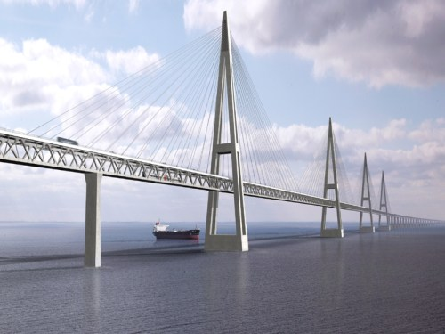 Fehmarn Belt Bridge Proposed Design
