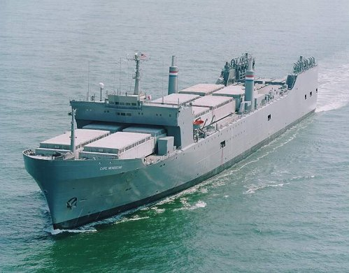 SEABEE Heavy Lift Barge Carrier - Cape Mendocino Class