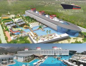 Queen Elizabeth Elite Cruise Ship Hotel - Kemer Turkey