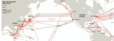Under-Sea Cable Map