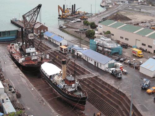 Drained Drydock