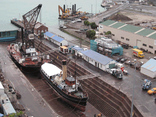 Drained Drydock