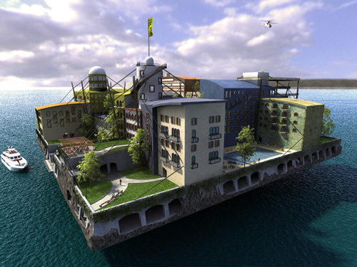 seasteading - andras-gyorfi-the-swimming-city
