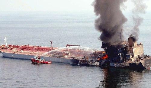 Formosaproduct Brick Tanker Fire