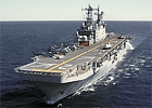 Former USS Saipan amphibious assault ship to be scrapped in Texas