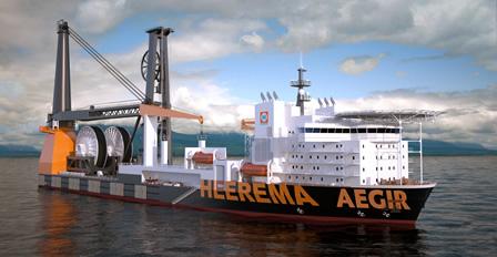 Deep Water Construction Vessel Aegir - Heerema Marine Contractors