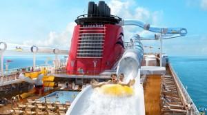 disney-dream-cruise ship water slide