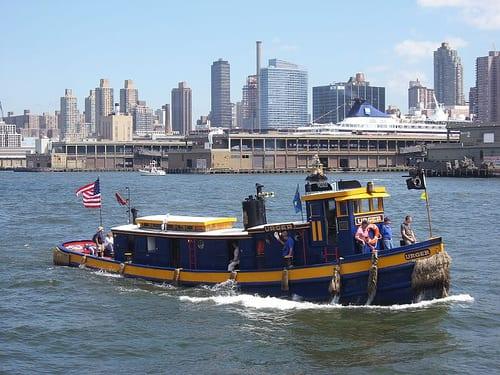 Vintage Small Tugboat