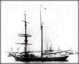 Sailing Ship Mary Celeste