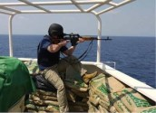 Pirate killed by private security guard of Somali coast