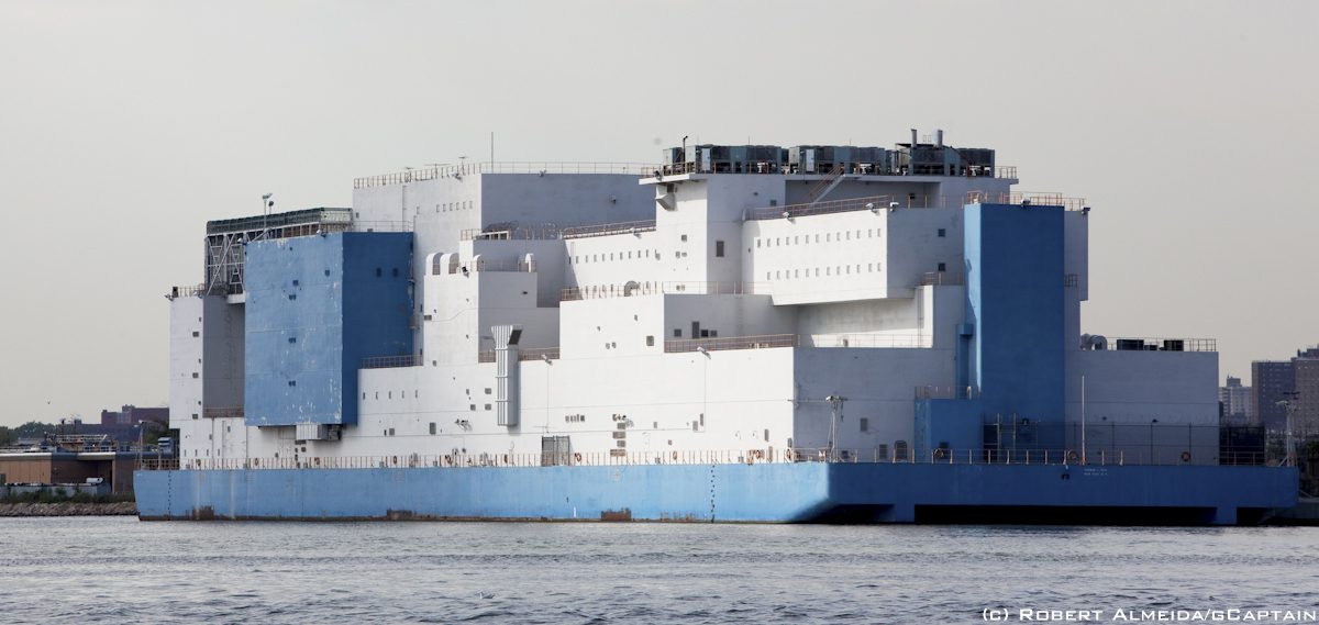 The Worlds Largest Floating Prison Is In NYC