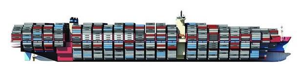 Maersk's new Tripe-E Class Container Ship